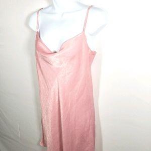 Pink Silky Slip Dress Size Small Sadie & Sage